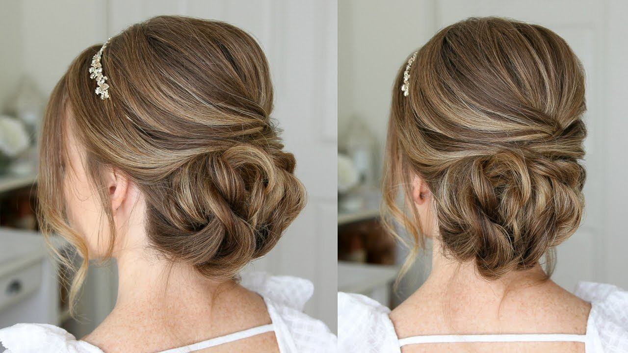 The Best Simple Formal Updo Missy Sue Youtube Pictures