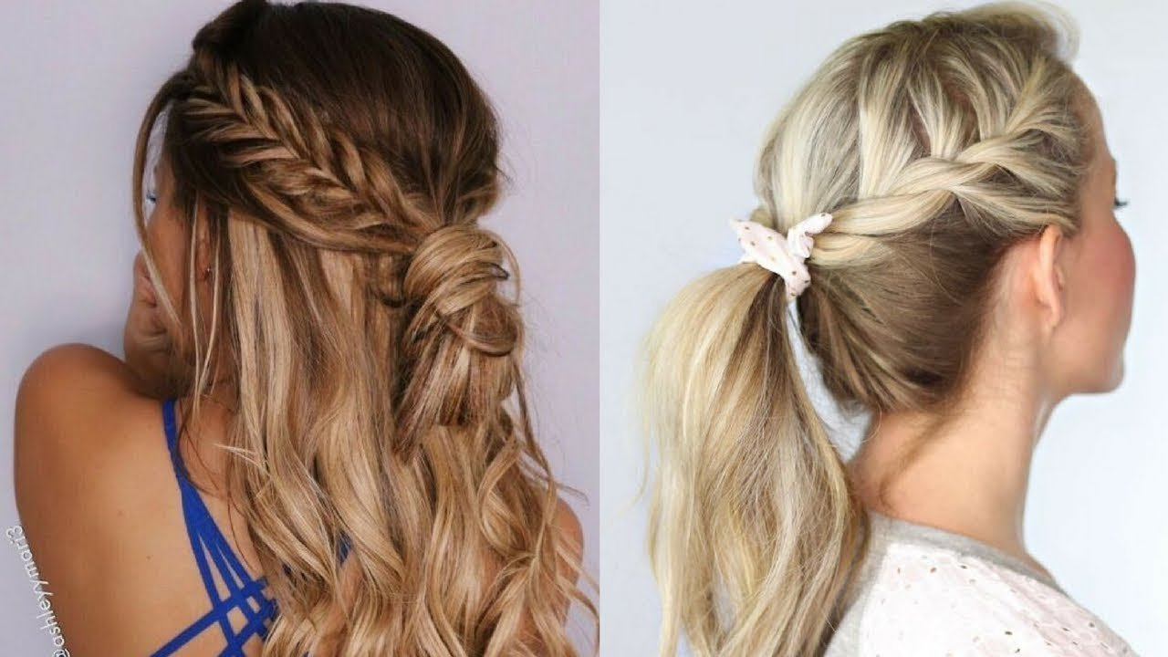 The Best Quick And Easy Hairstyles Hairstyle Tutorial Compilation Pictures