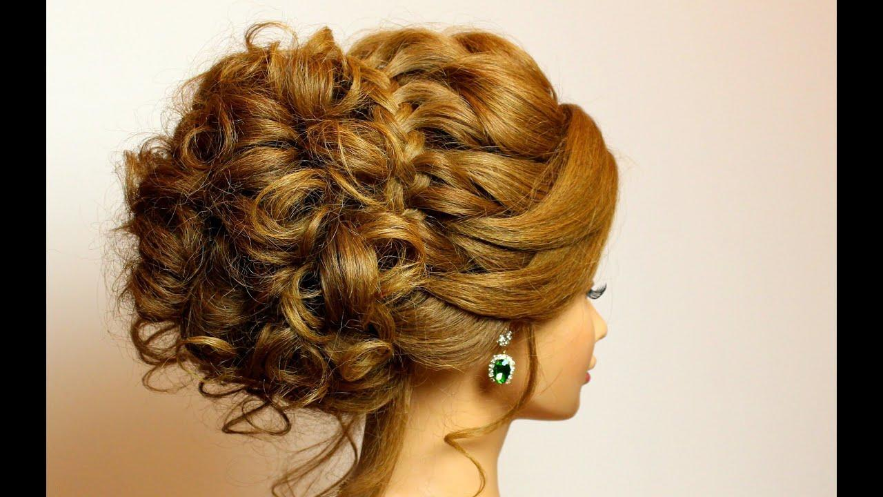 The Best Bridal Hairstyle For Long Medium Hair Tutorial Romantic Pictures