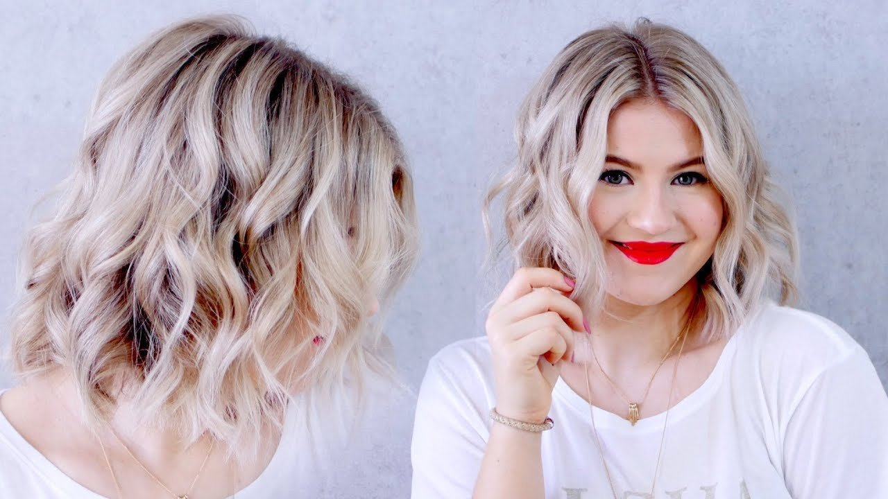 The Best Updated How To Curl Short Hair With A Flat Iron Milabu Pictures