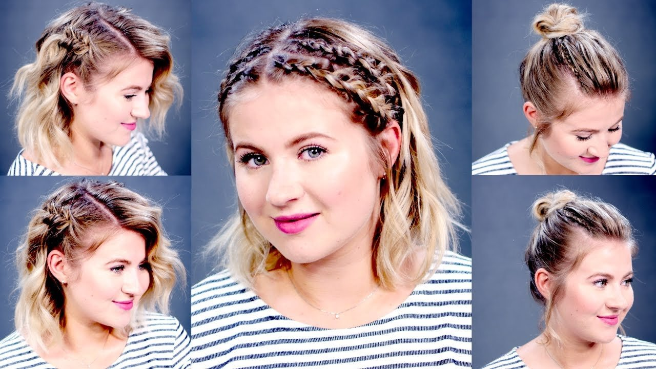 The Best 3 Easy Summer Hairstyles For Short Medium Hair Milabu Pictures