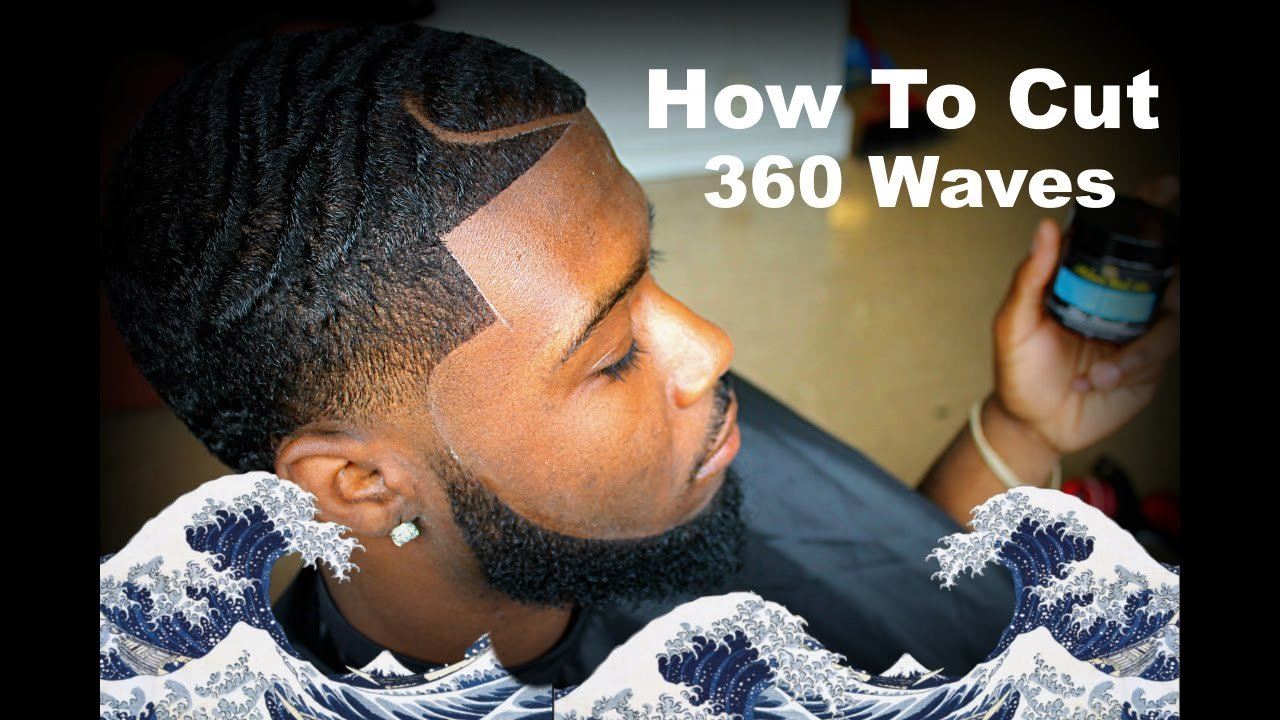 The Best Barber Tutorial How To Cut 360 Waves With A Part Hd Pictures
