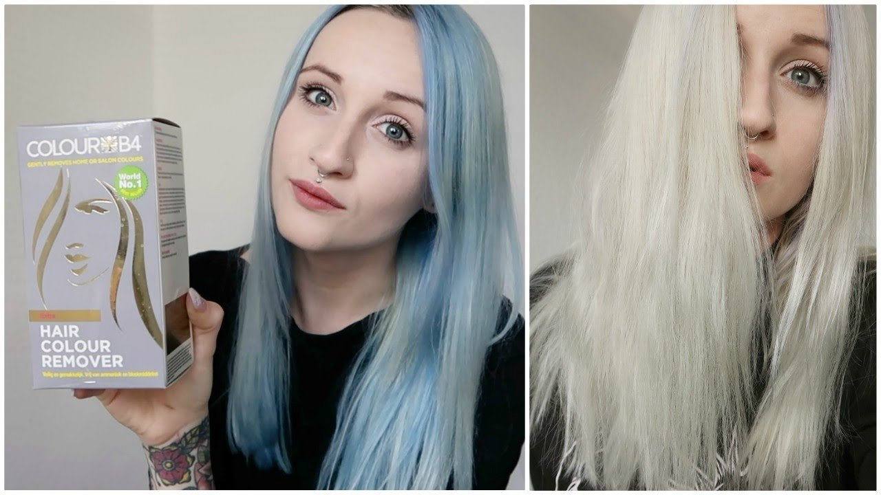 The Best Hair Color Remover On Blue Hair Youtube Pictures