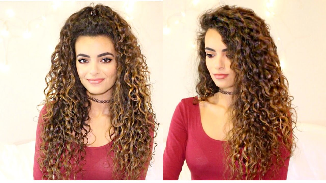The Best Long Curly Hair Routine Itsrimi Youtube Pictures