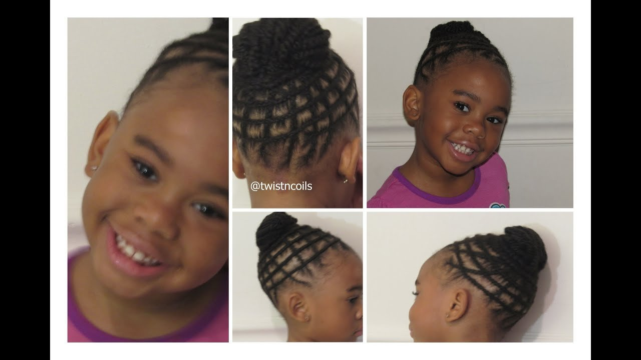 The Best Tnc 19 ♡ Natural Braid Hairstyle For Kids Youtube Pictures