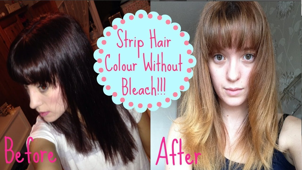 The Best How To Remove Colour Without Bleach How I Got From Dark Pictures