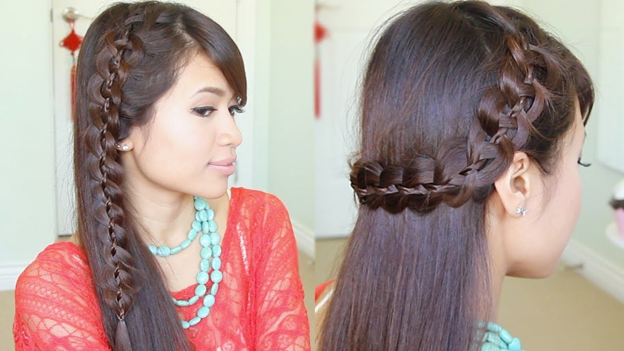 The Best Unique 4 Strand Lace Braid Hairstyle For Long Hair Pictures
