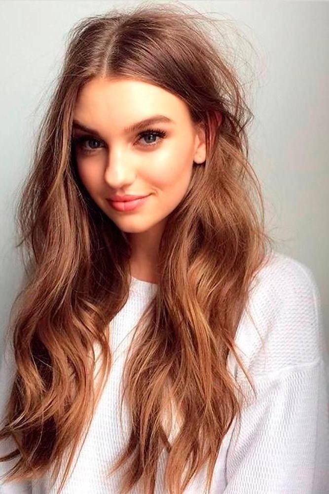 The Best 15 Best Of Long Hairstyles For Full Faces Pictures