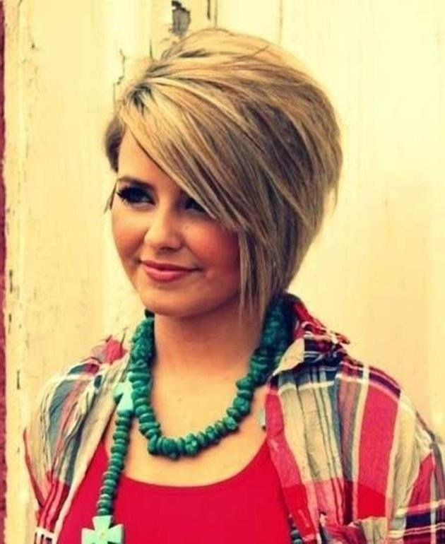 The Best 20 Collection Of Short Haircuts For Heavy Set Woman Pictures