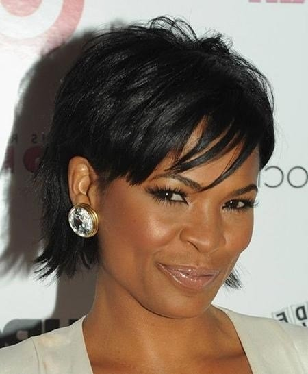 The Best 20 Collection Of Edgy Short Haircuts For Black Women Pictures