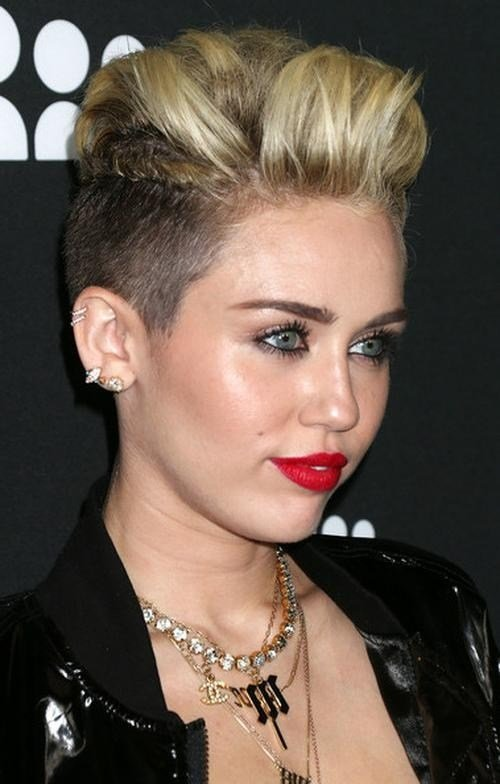 The Best 2019 Popular Short Haircuts Like Miley Cyrus Pictures