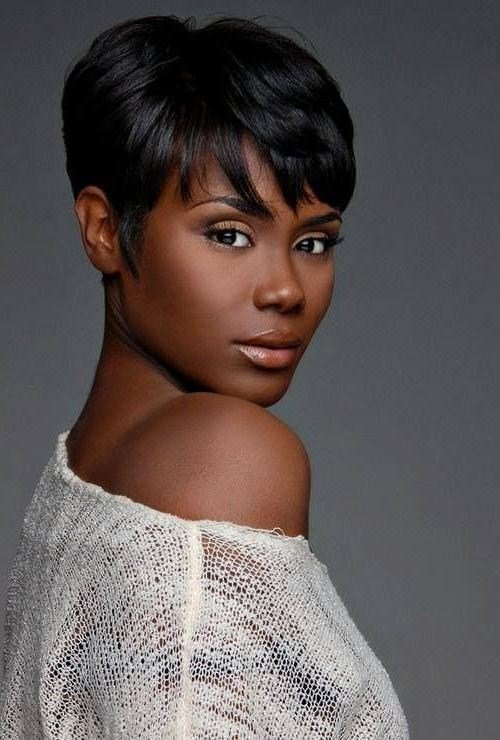 The Best 20 Photo Of Short Hairstyles For African American Women Pictures