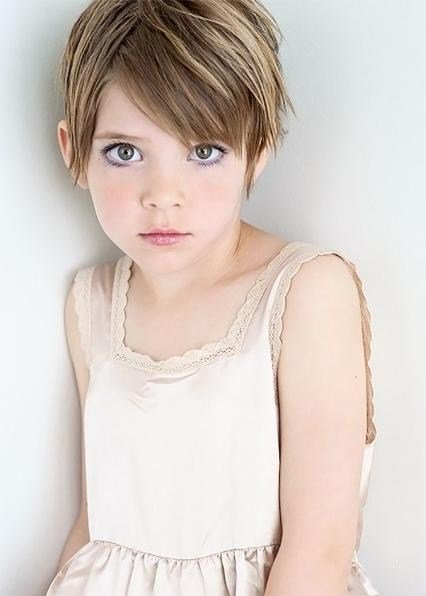 The Best 2019 Latest Pixie Haircuts For Little Girl Pictures