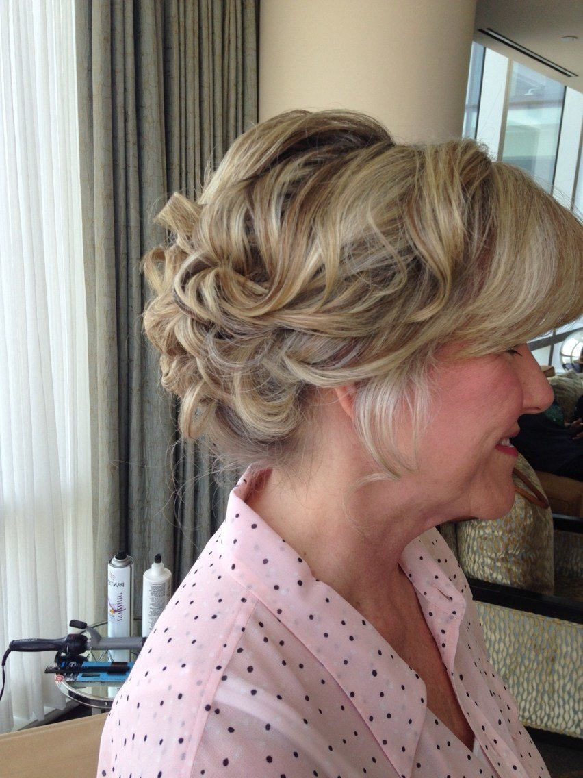 The Best 2019 Latest Updo Hairstyles For Mother Of The Groom Pictures