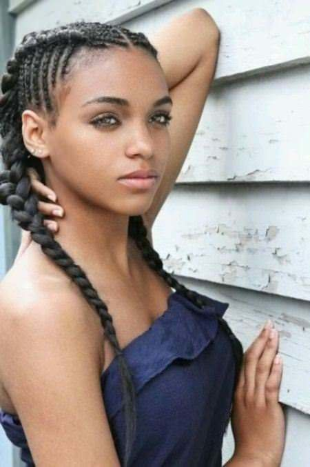 The Best Fancy French Braids For Black Women Pictures