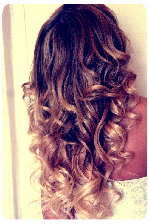 The Best Curly Ombre Hair Tumblr Pictures