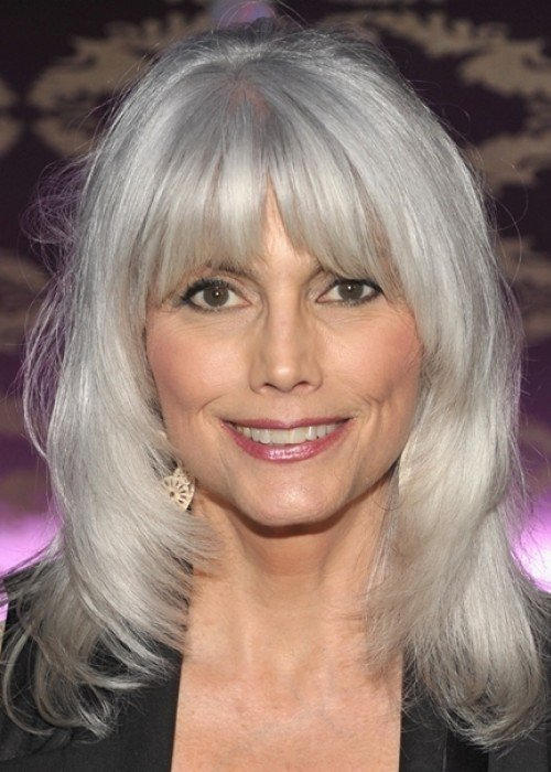 The Best 30 Stylish Gray Hair Styles For Short And Long Hair Pictures
