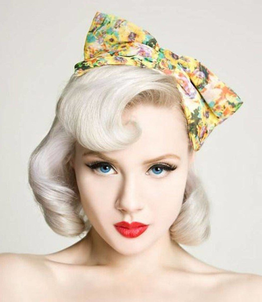 The Best 30 Pin Up Hairstyles For Glamorous Retro Girls Pictures