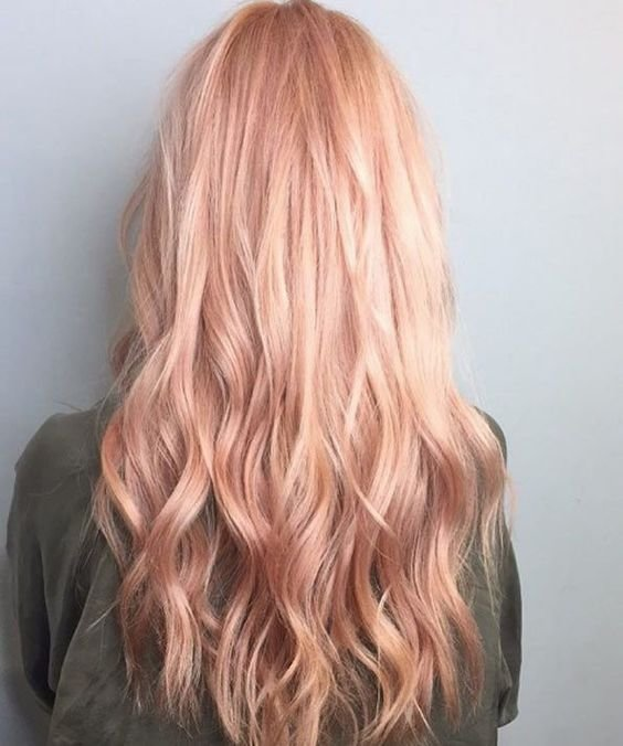 The Best 35 Sparkling Brilliant Rose Gold Hair Color Ideas Pictures