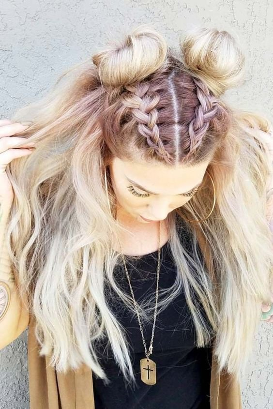 The Best 30 Boho And Hippie Hairstyles For Chill Vibes All Year Long Pictures