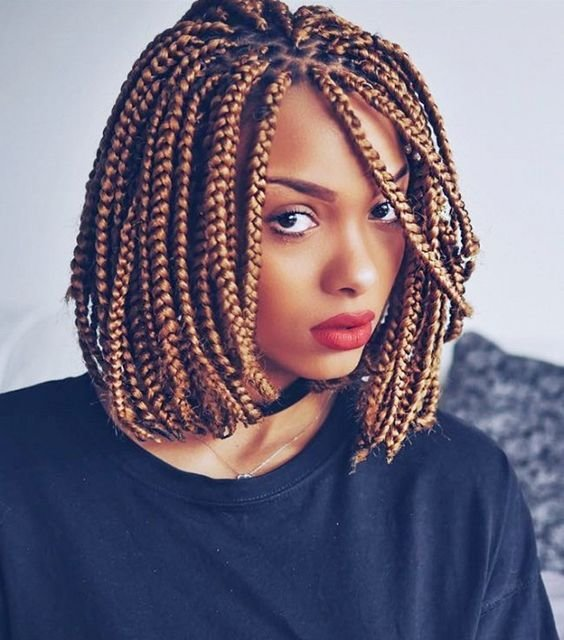 The Best 30 Short Box Braids Hairstyles For Chic Protective Looks Pictures