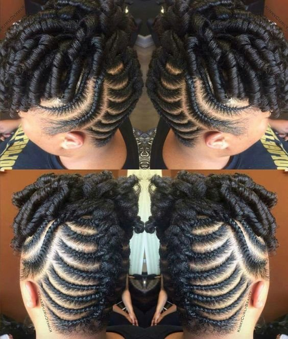 The Best 30 Beautiful Fishbone Braid Hairstyles For Black Women Pictures