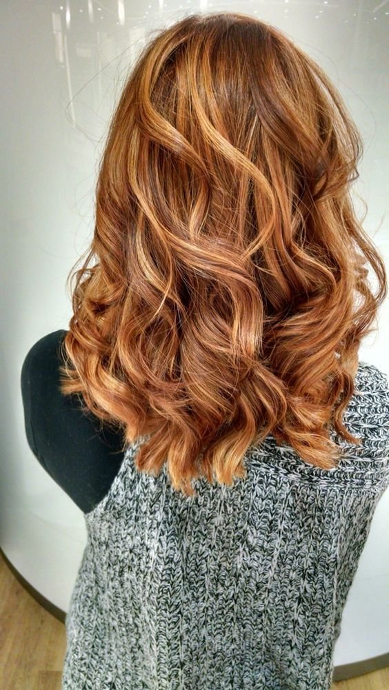 The Best Red Highlights Ideas For Blonde Brown And Black Hair Pictures