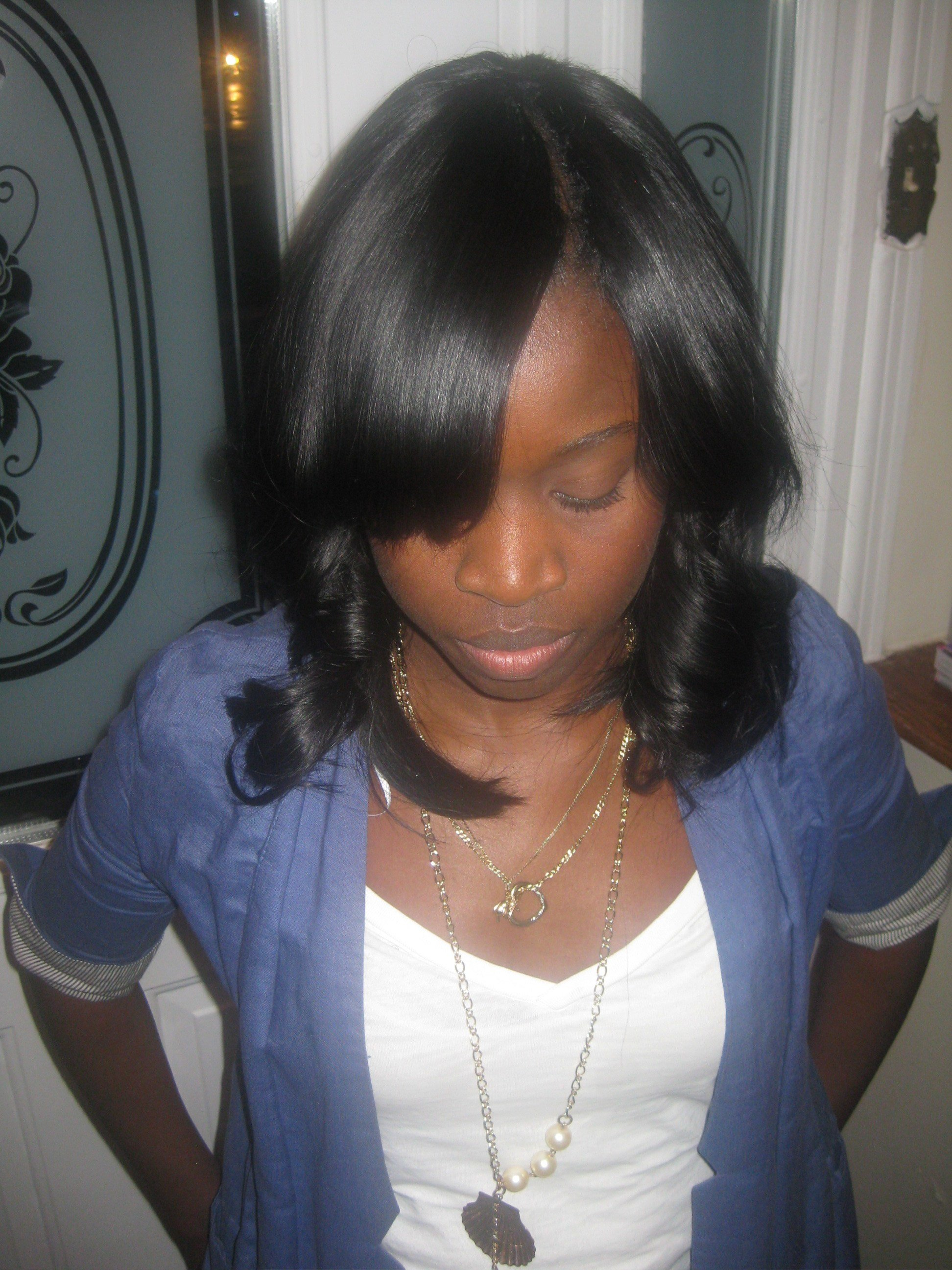 The Best Invisible Part Weave All Sew In No Glue Love Yourself Pictures