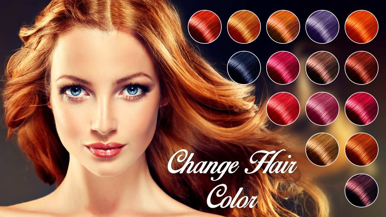 The Best Change Hair Color Android Apps On Google Play Pictures