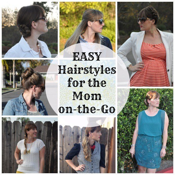 The Best 6 Easy Hairstyles To Do While Running Out The Door Pictures