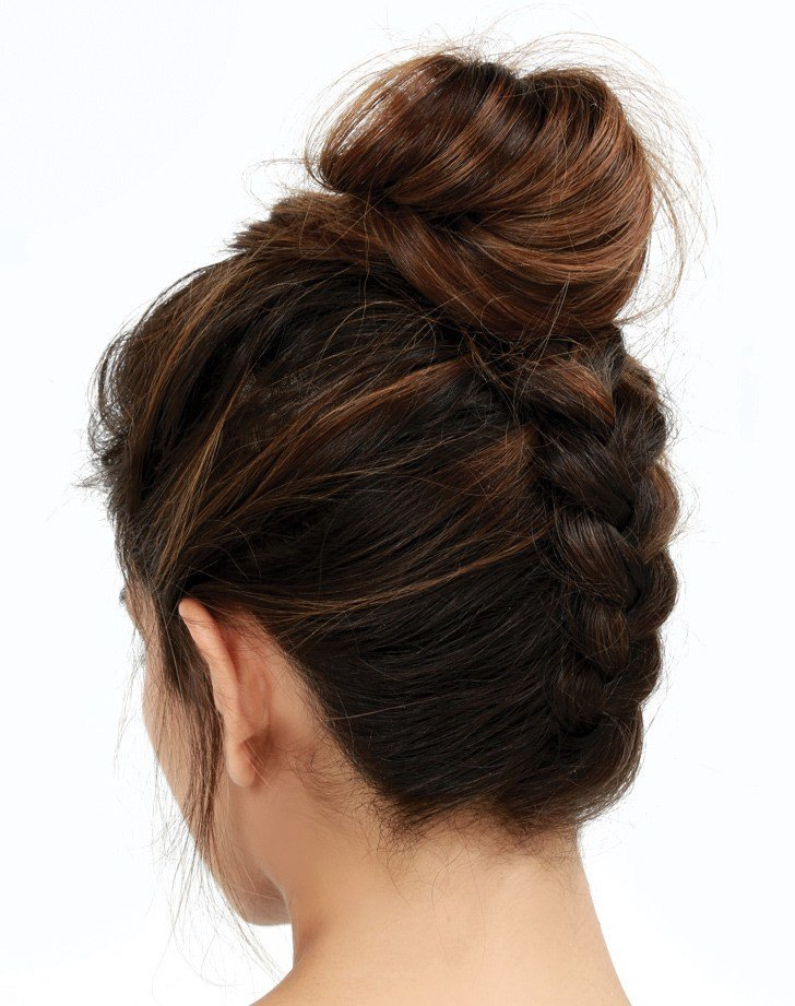 The Best 9 New Bun Hairstyles To Try In 2019 Purewow Pictures