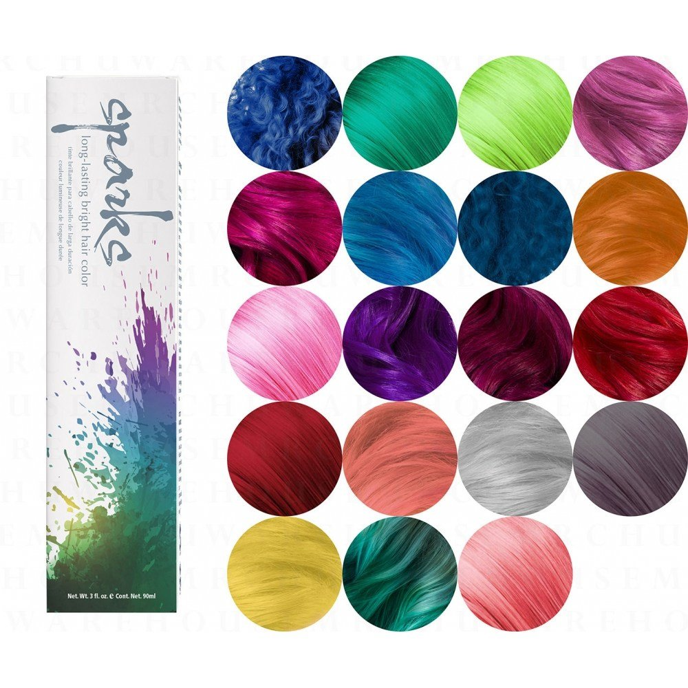 The Best Sparks Bright Permanent Hair Color Dye Cream 90Ml 3Oz Prostylingtools Com Pictures