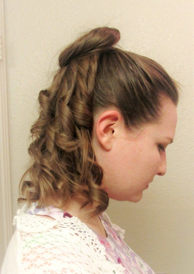 The Best A Simple 1870S Hairstyle Tutorial And A Review Of Mona Pictures