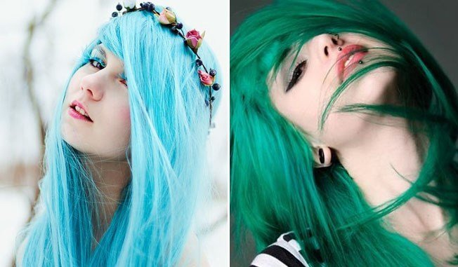 The Best 10 Days Of My Favourite Things – Day 8 Coloured Hair Pictures