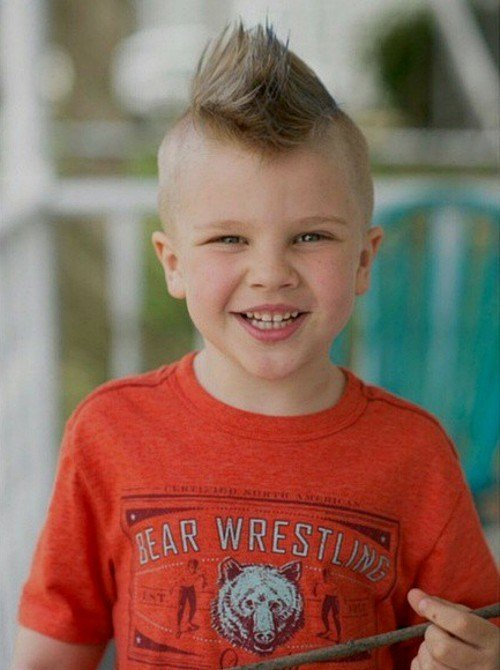 The Best 20 Awesome And Edgy Mohawks For Kids Pictures