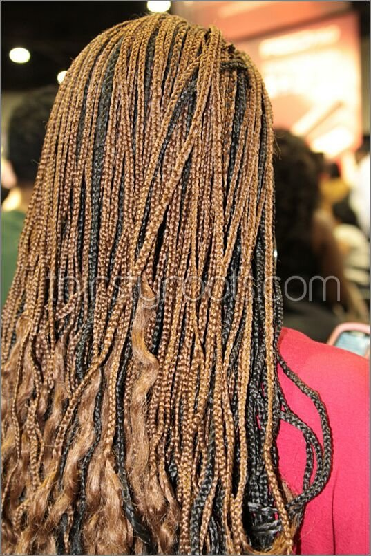The Best Long Individual Braids Pictures