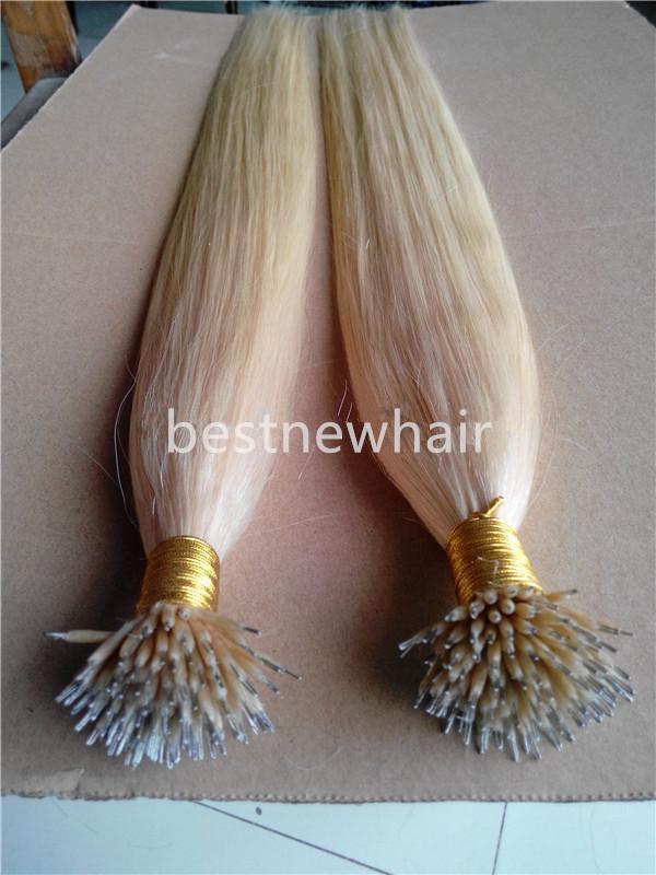 The Best 182022Nano Rings Indian Remy Human Hair Extensions 100G Pk Pictures