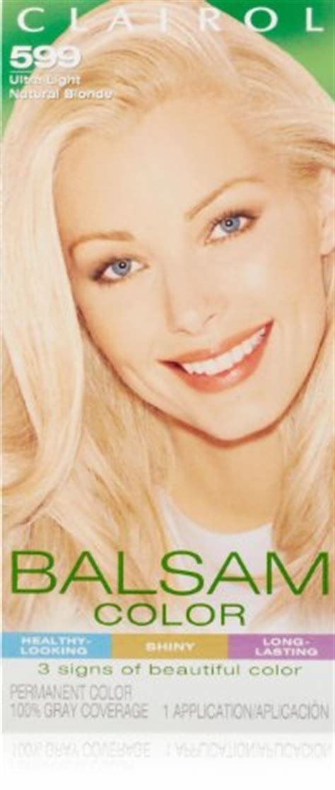 The Best Clairol Balsam Hair Color 599 Ultra Light Natural Blonde 1 Pictures