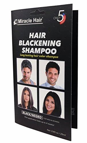The Best Amazon Com Instant Hair Dye Black Hair Shampoo 3 Pictures