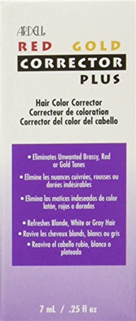 The Best Ardell Hair Color Corrector Red And Gold 25 Ounce Pictures