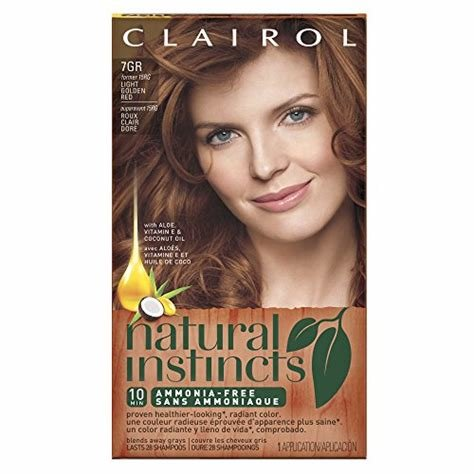 The Best Clairol Natural Instincts 15Rg 7Rg Light Golden Red 1 Kit Pictures