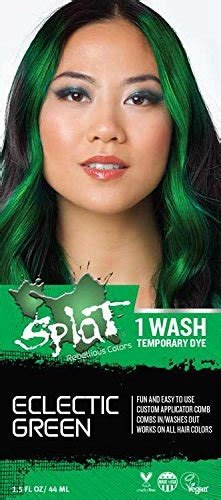 The Best Amazon Com Splat 1 Wash Temporary Hair Dye Bolder Blue Beauty Pictures