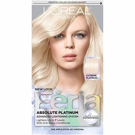 The Best L Oreal Paris Feria Absolute Platinums Hair Color Extreme Pictures