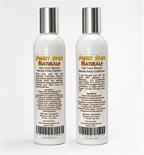 The Best Sweet Spot Naturals Sulfate Free Hair Color Rescue Manuka Pictures