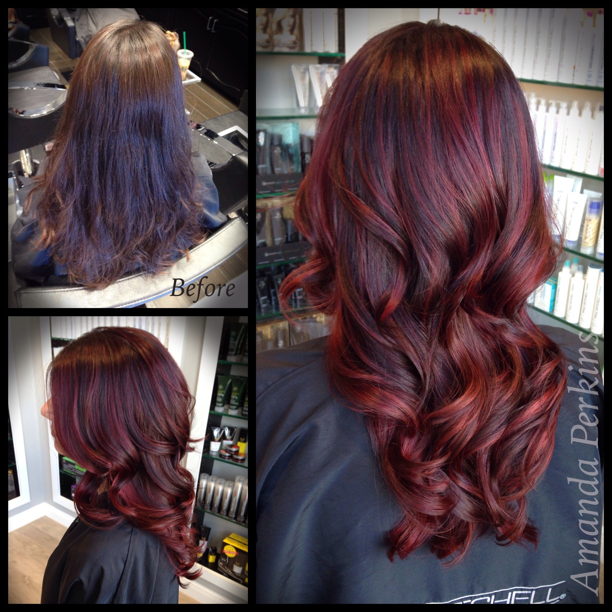 The Best How To Dark Cherry Hair Color Modern Salon Pictures