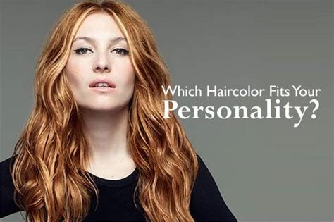 The Best Which Hair Color Fits Your Personality Awards Pictures