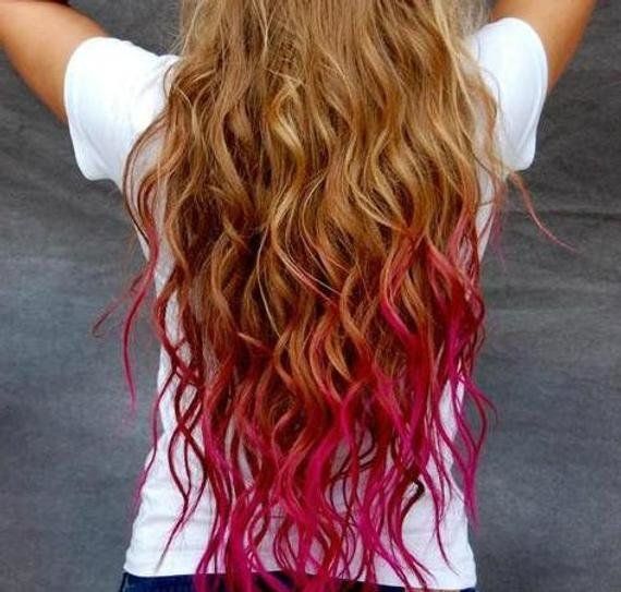 The Best Items Similar To Temporary Hair Colored Chalk Dip Dye Pictures