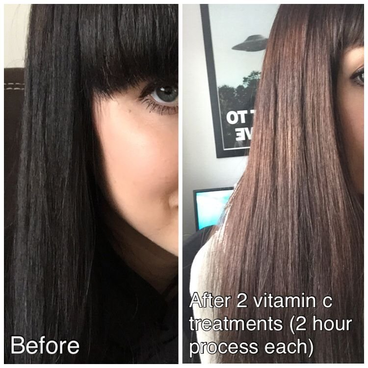 The Best Vitamin C Hair Color Remover Reviews Photos Page 2 Makeupalley Pictures