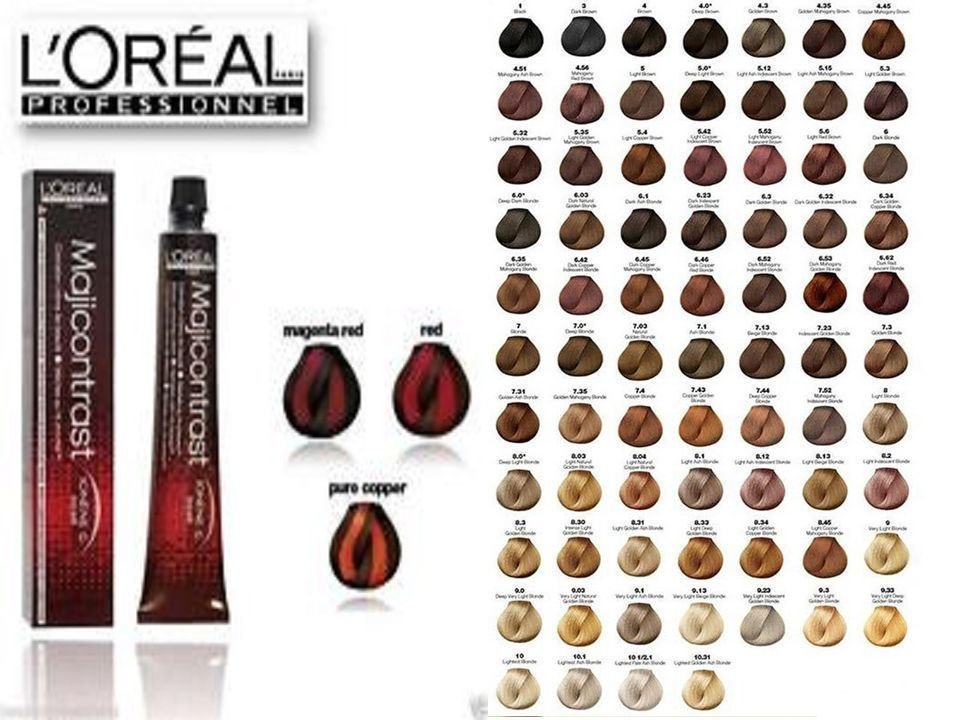 The Best L Oreal Professional Majirel Majiblond Majirouge Hair Pictures