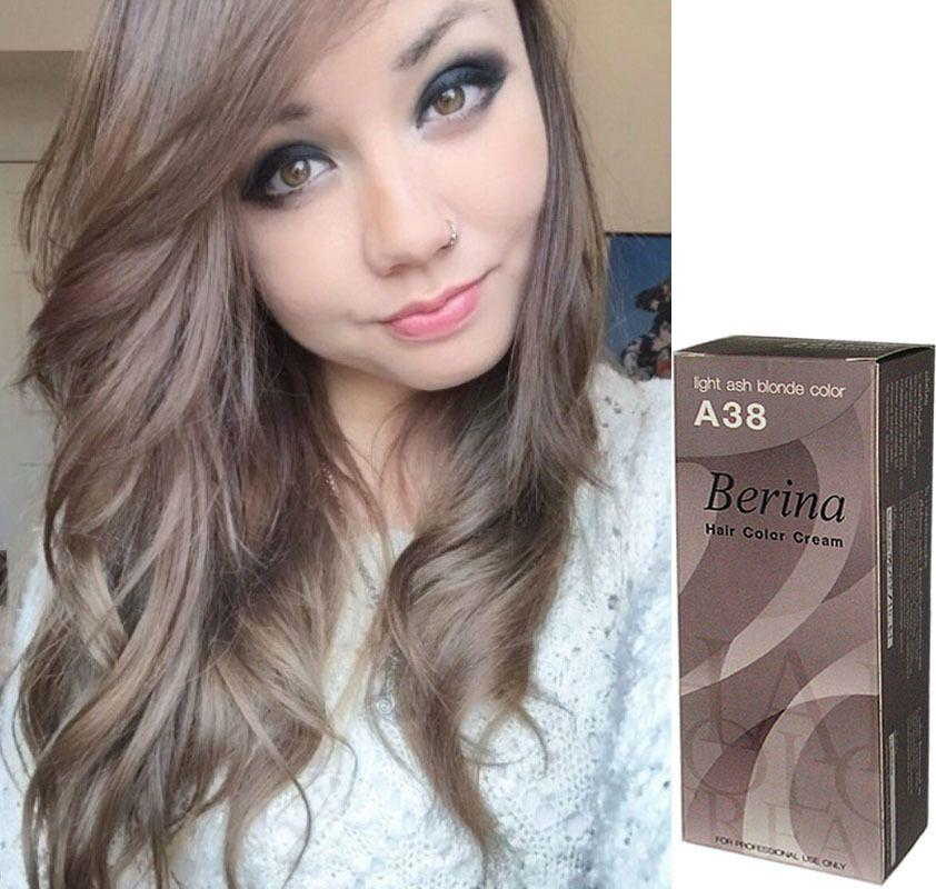 The Best Berina Hair Color Permanent Cream Hair Ash Blonde Light Pictures